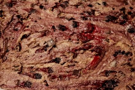 Gâteau choco-orange-framboises noires