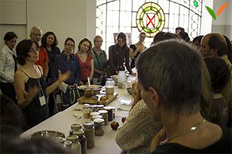 Démo culinaire au festival végane de Montréal